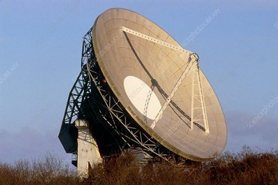 Satellite dish ,Goonhillie Down ,Cornwall