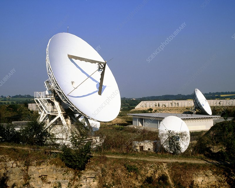 Mercury satellite communications ground station