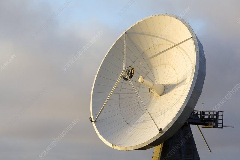 Satellite dish, Iceland