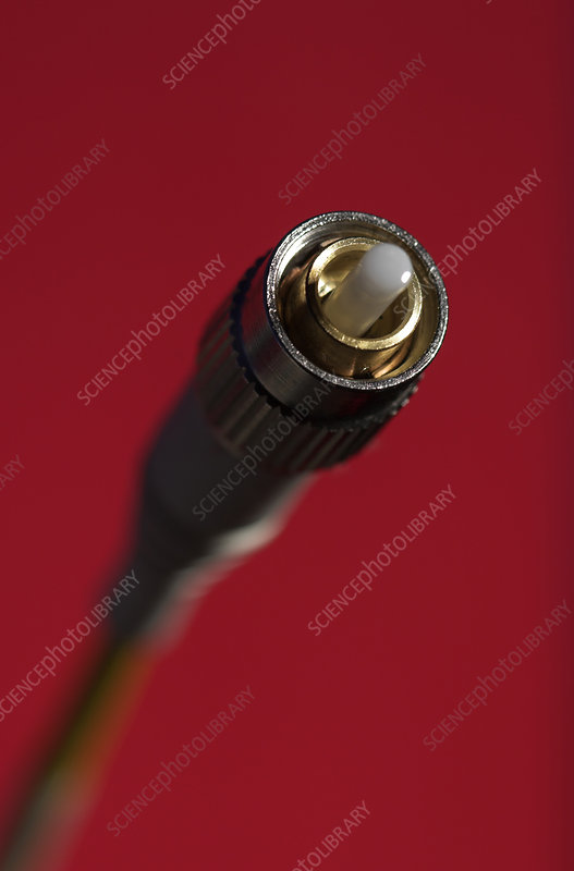 Optical Fiber With FC Connector