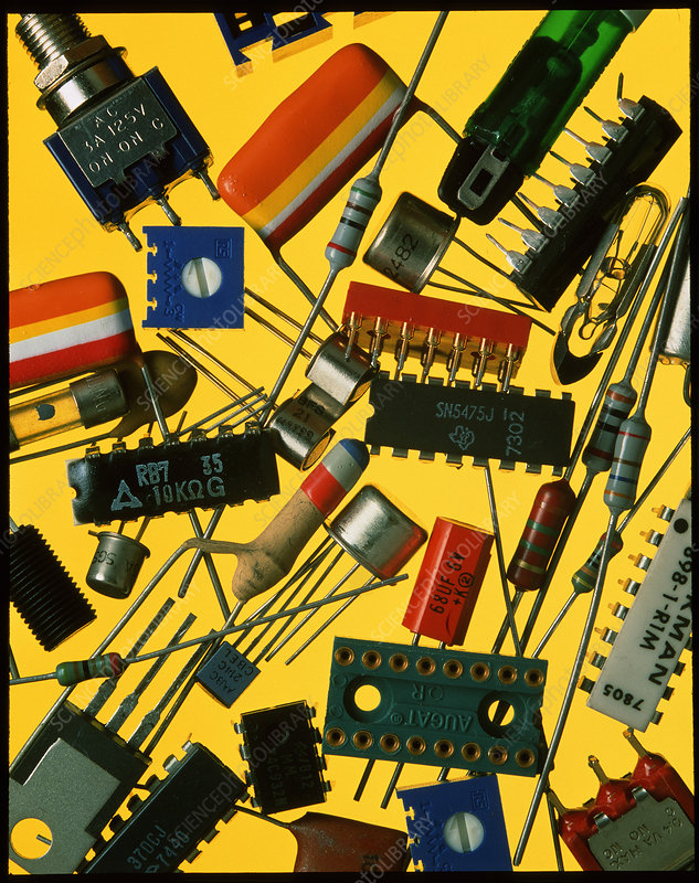 Collection of electronic components