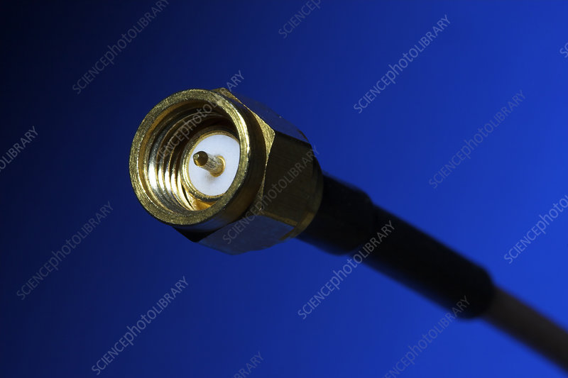 Coaxial Cable With Male SMA Connector
