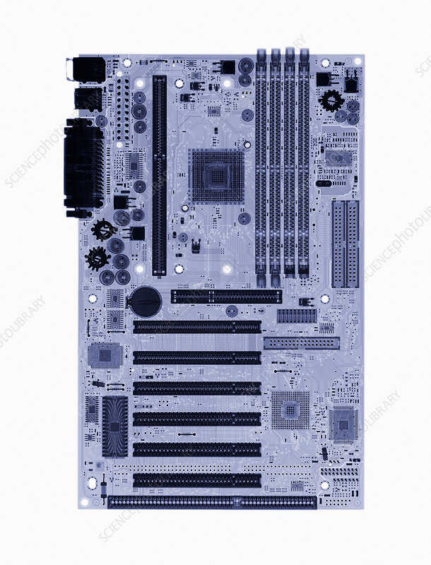 Computer circuit board, X-ray
