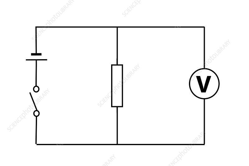 Measuring electric voltage