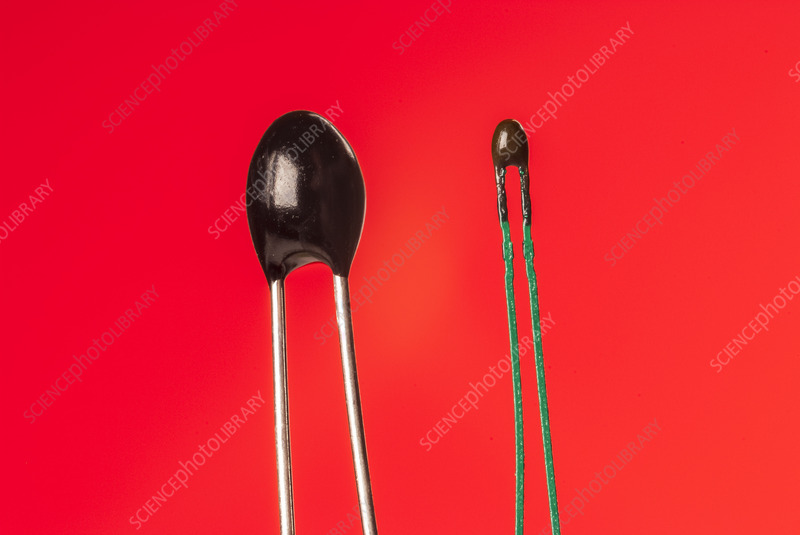 Disc and bead thermistors