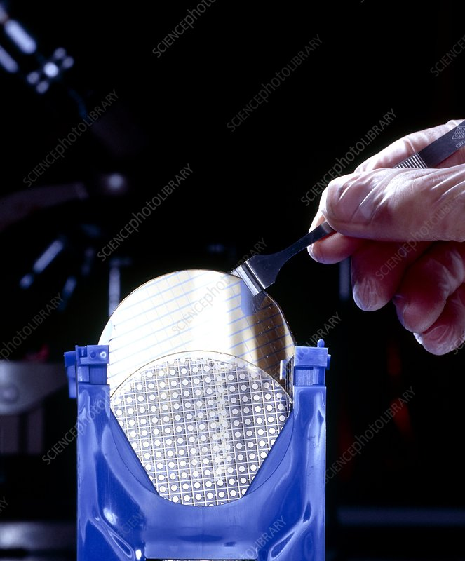 Glass & silicon wafers for making pressure sensors