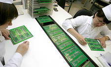 Printed circuit board assembly work