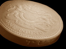 One pound coin, SEM