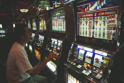 Casino gambling machines