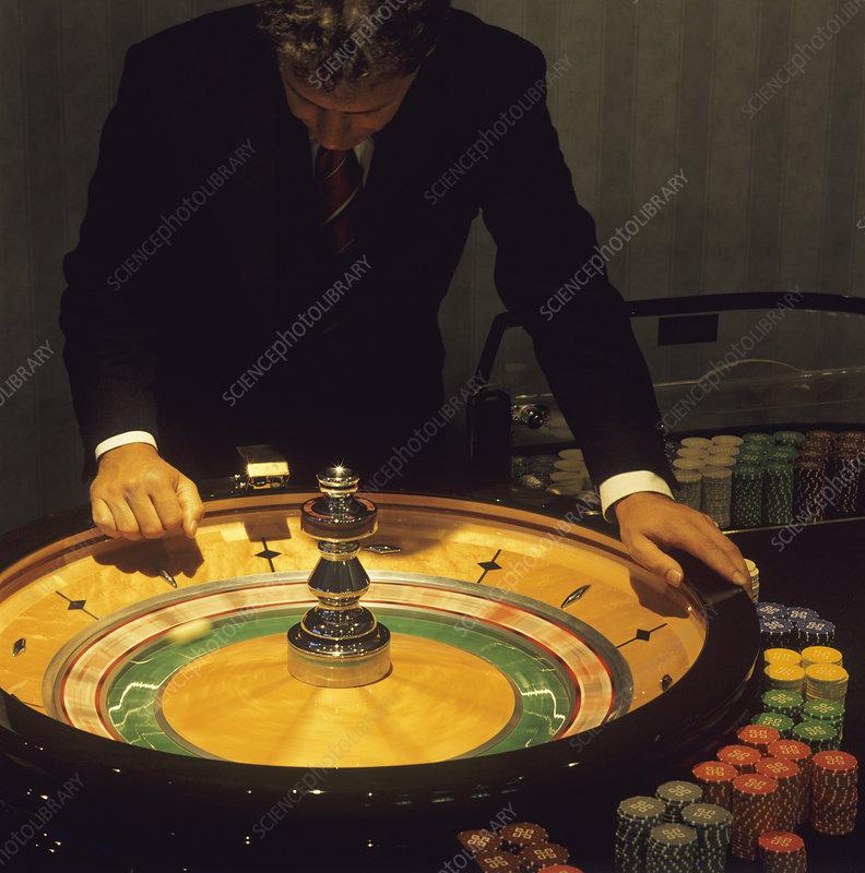 666 roulette table