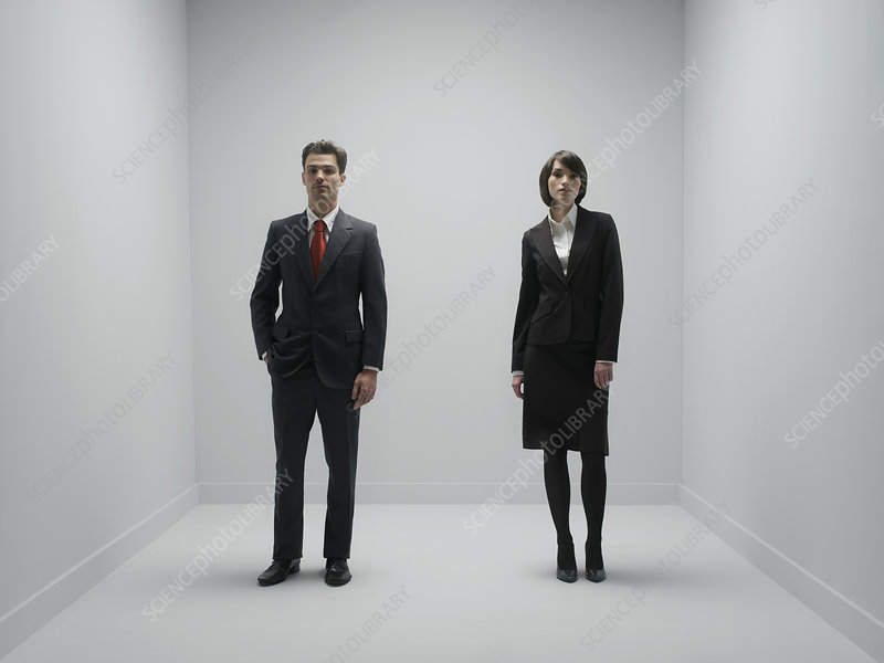 Office workers, conceptual image