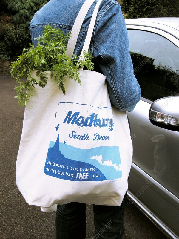 Modbury resusable shopping bag