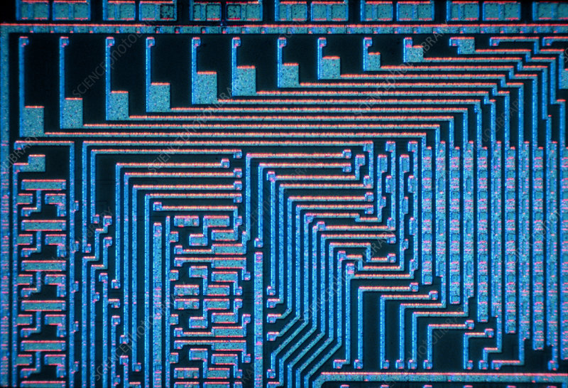 LM of a part of an integrated circuit