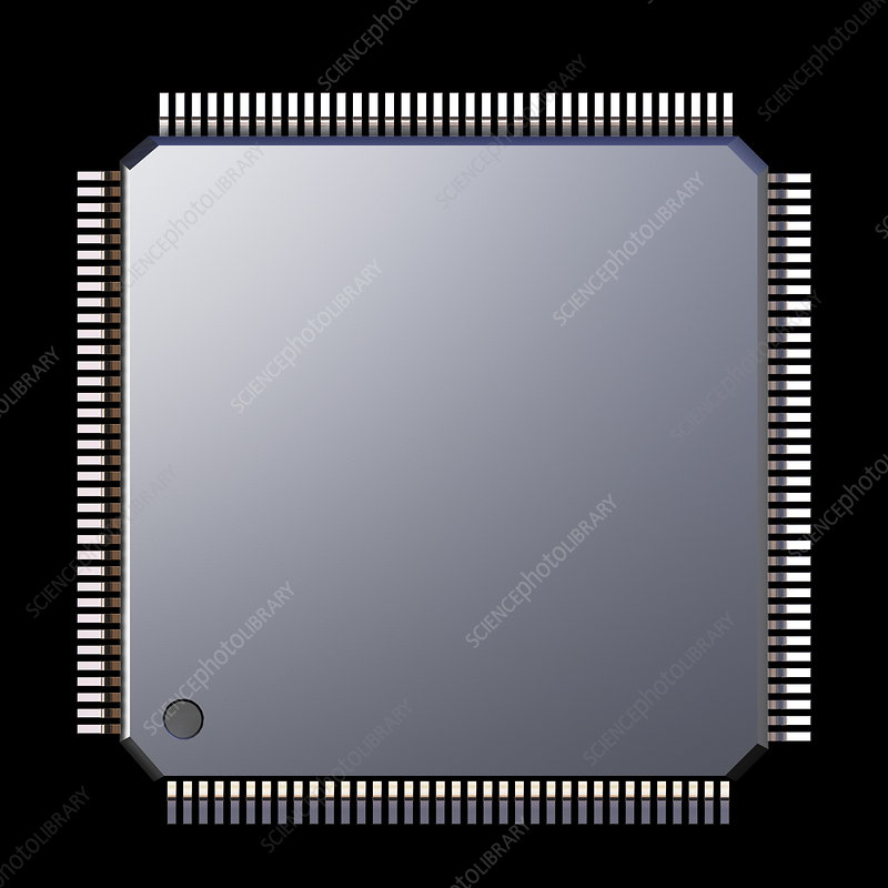 Computer memory chip