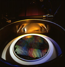 Etching equipment for making integrated circuits