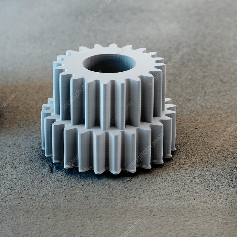 Micromechanical gear, SEM