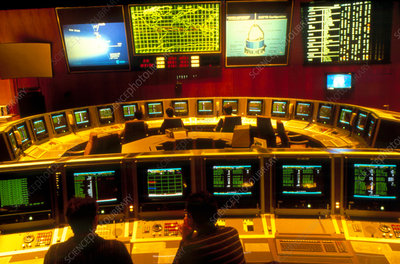 Giotto Mission Control Room