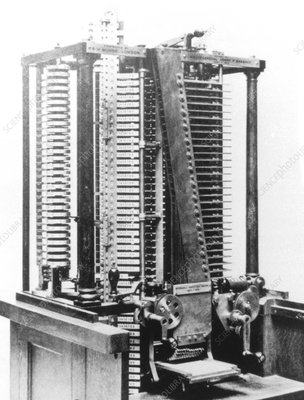 A mill of Babbage's Analytical Engine