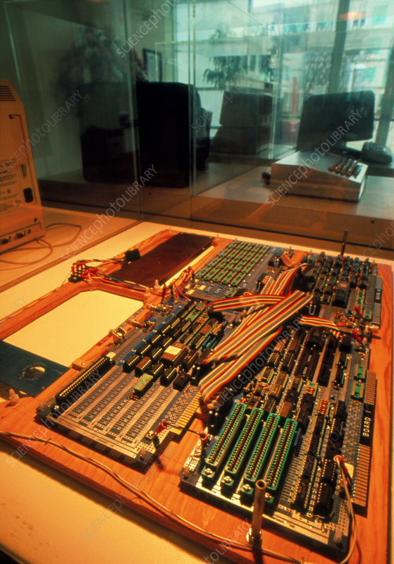 Motherboard from the first Apple computer