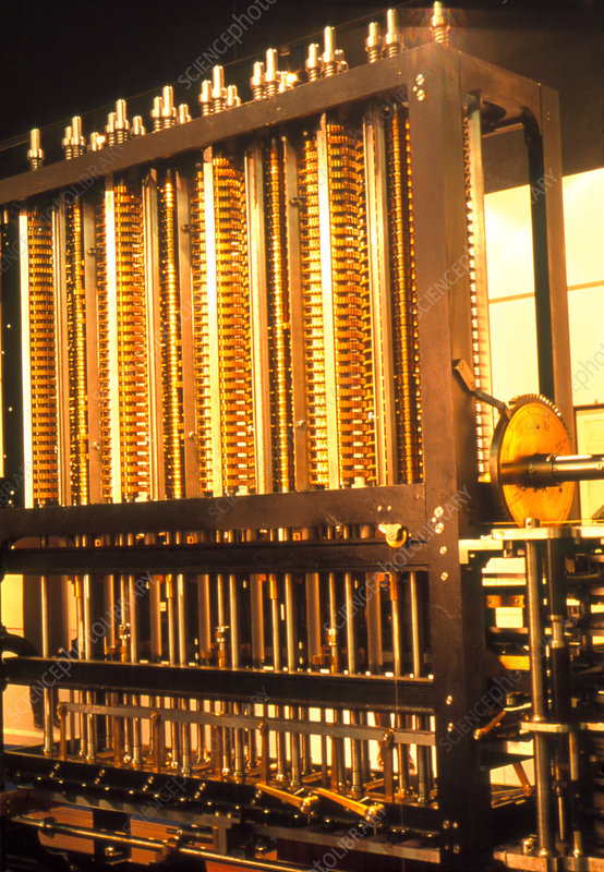 Reconstruction of Babbage's difference engine