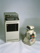 IBM 5110 and Omnibot 2000 robot
