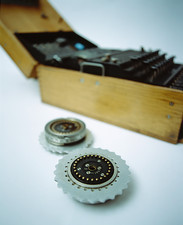 Enigma machine rotor wheels