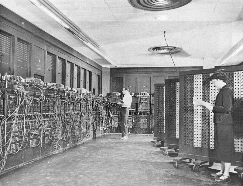 ENIAC, 1940s digital calculator