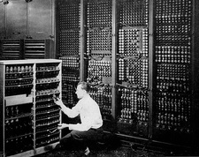 ENIAC, early electronic computer