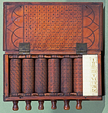 French calculating machine, late 18th C