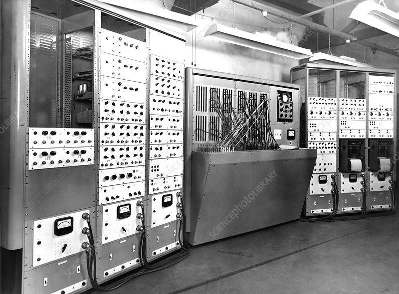 Electronic simulator, 1954