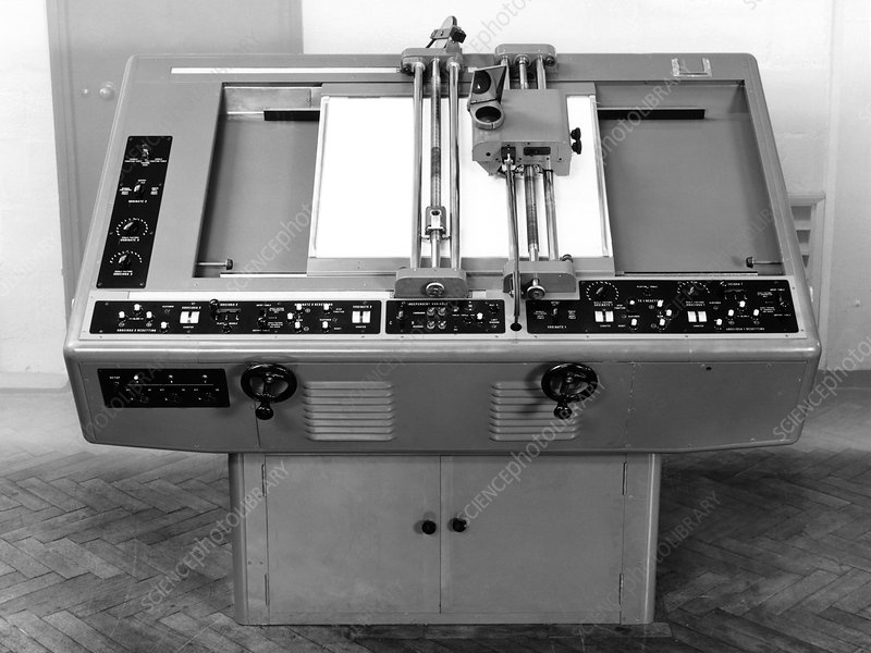 Differential analyser, 1954