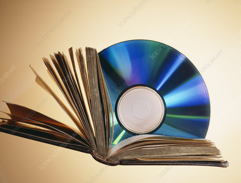 CD-ROM and book
