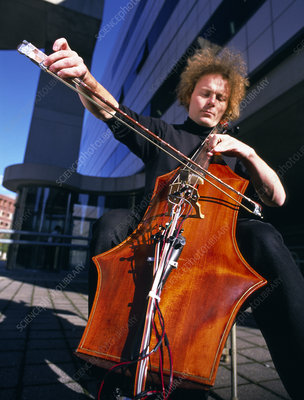 Digital cello