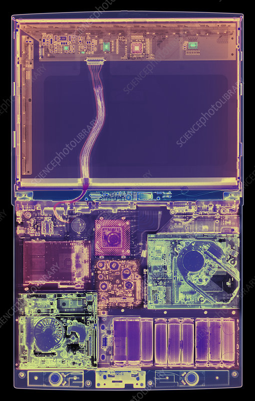 Laptop computer X-ray