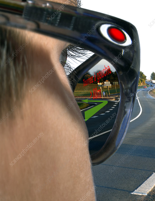Direction-finding glasses of the future