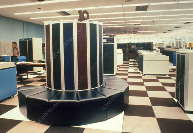 cray 1 supercomputer stock image t450 0080 science