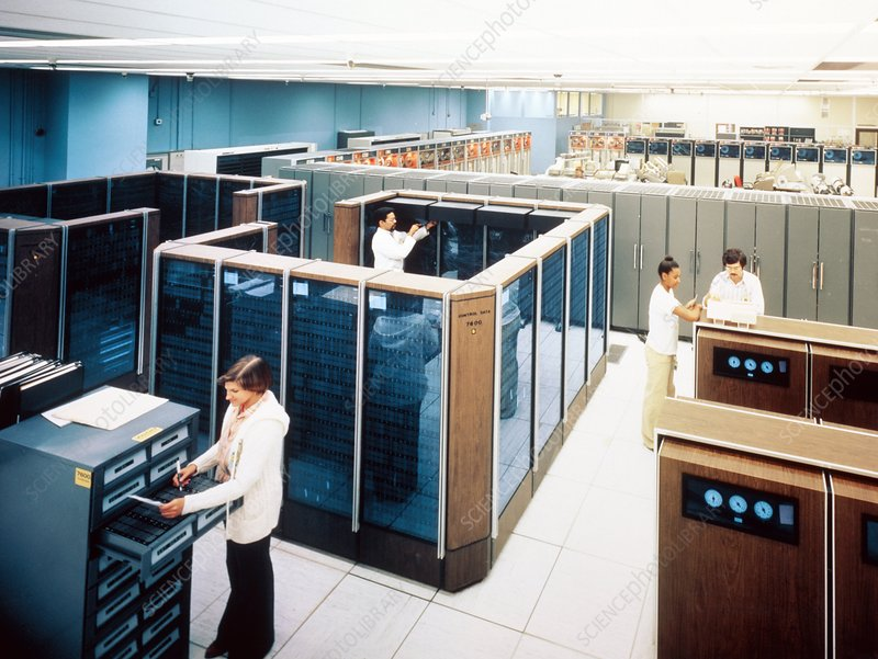 CDC 7600 mainframe computer at LLNL