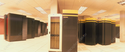 Computers for NCSA machine room 'metacomputer'