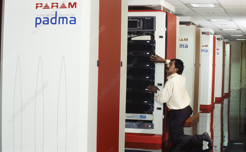 Param Padma supercomputer
