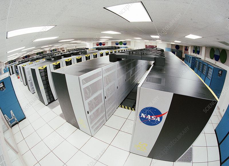 NASA'S Columbia supercomputer