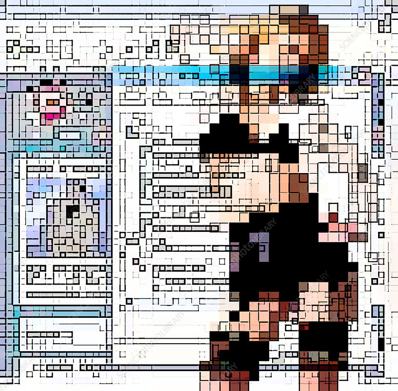 Internet pornography, conceptual artwork