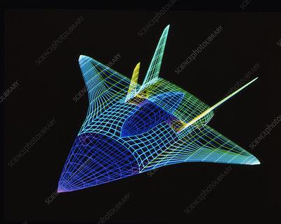 Computer-aided design of Saenger/Horus spaceplane