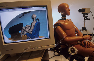 Airplane crash test dummy research