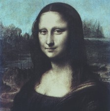 Computer version of Mona Lisa, La Gioconda