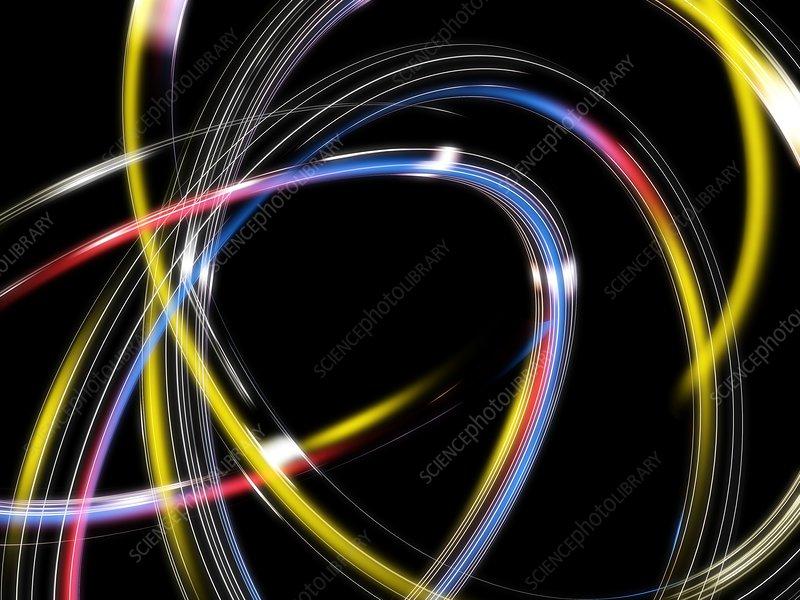 Circles, abstract computer artwork
