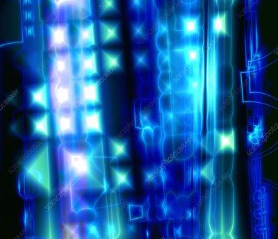 Abstract computer artwork