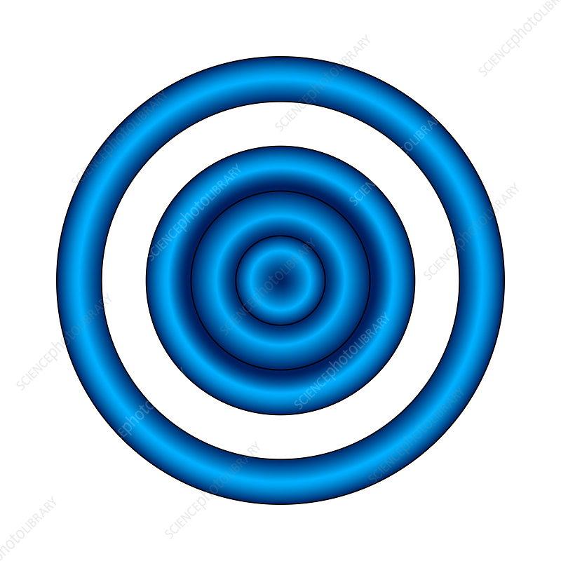 Bullseye illusion