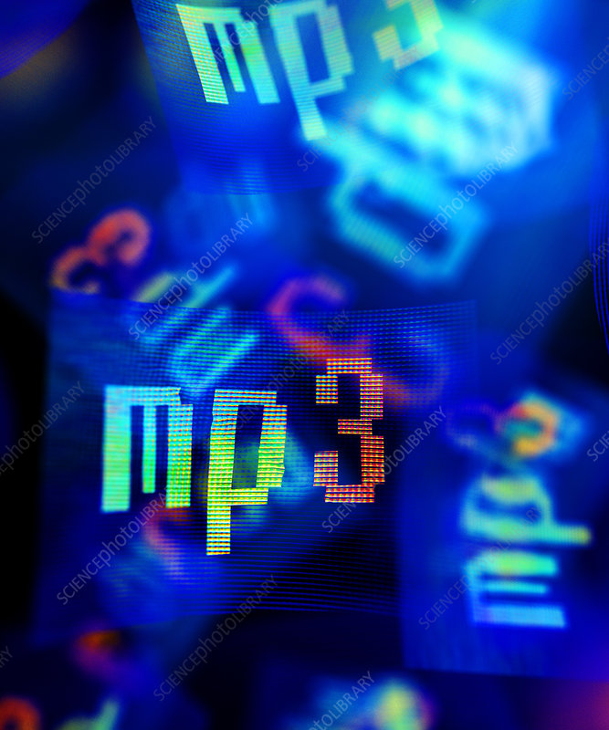 MP3, abstract artwork