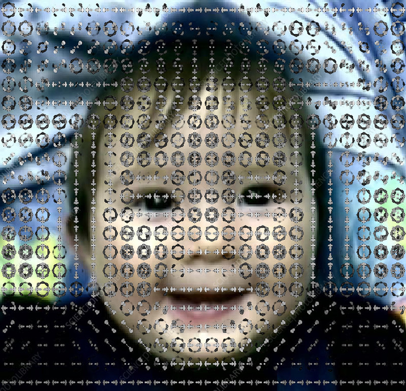 Computer analysis of baby's smile
