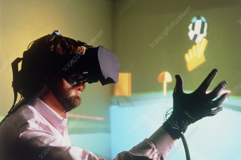 Virtual reality: Cyberspace game